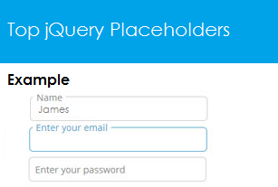 Top jQuery Placeholder Plugins
