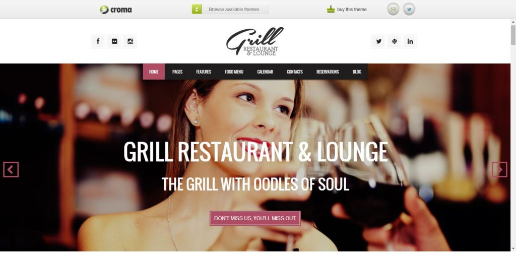 Grill Parallax Restaurant & Events