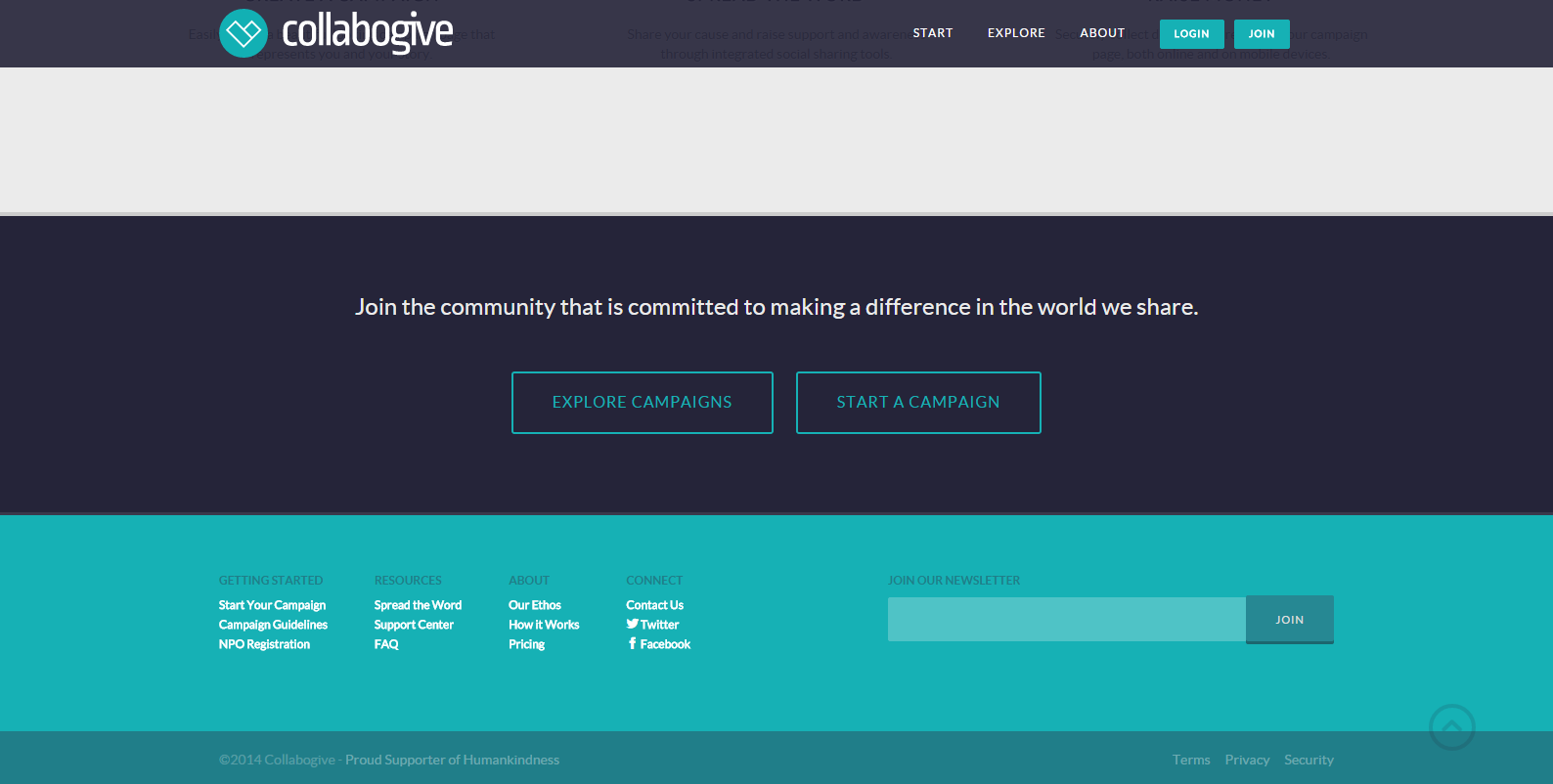 collabogive - Web Page Design Ideas