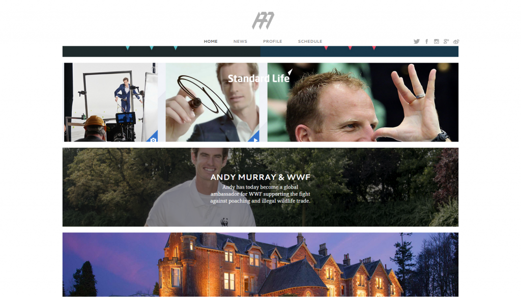 Andy Murray Official Website