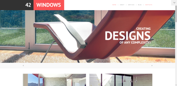 42 Windows - Windows & Doors Responsive WordPress Theme