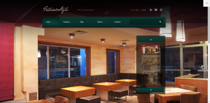 Cafe Design - Interior Design WordPress Theme