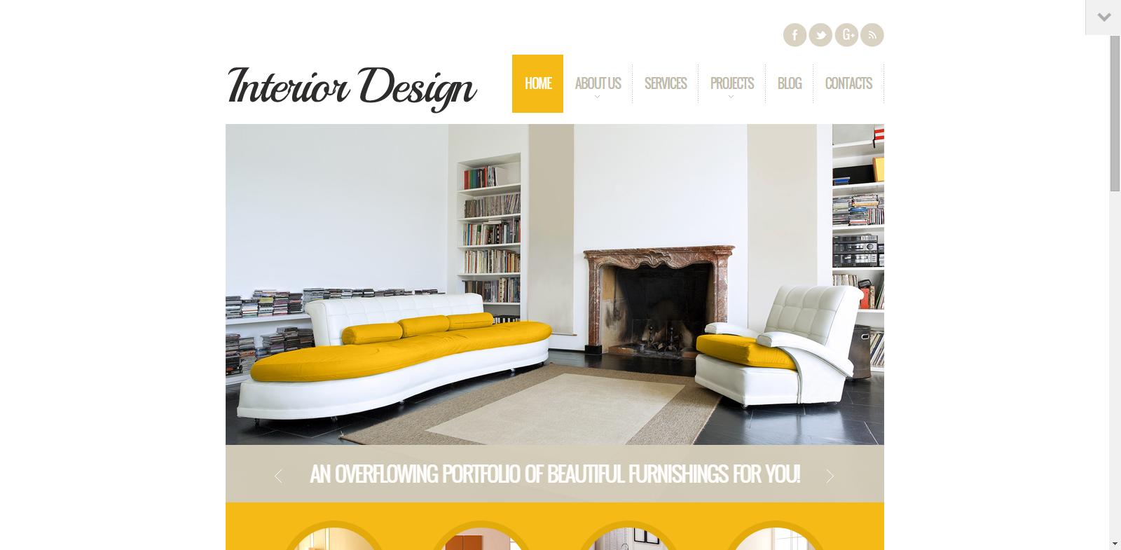 20 Modern Interior Design Furniture Wordpress Themes Kgn Technologies