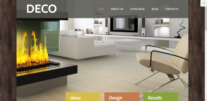 DECO - Interior Design Responsive WordPress Theme