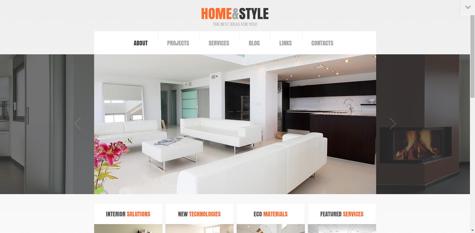 20 Modern Interior Design & Furniture WordPress Themes - KGN ...