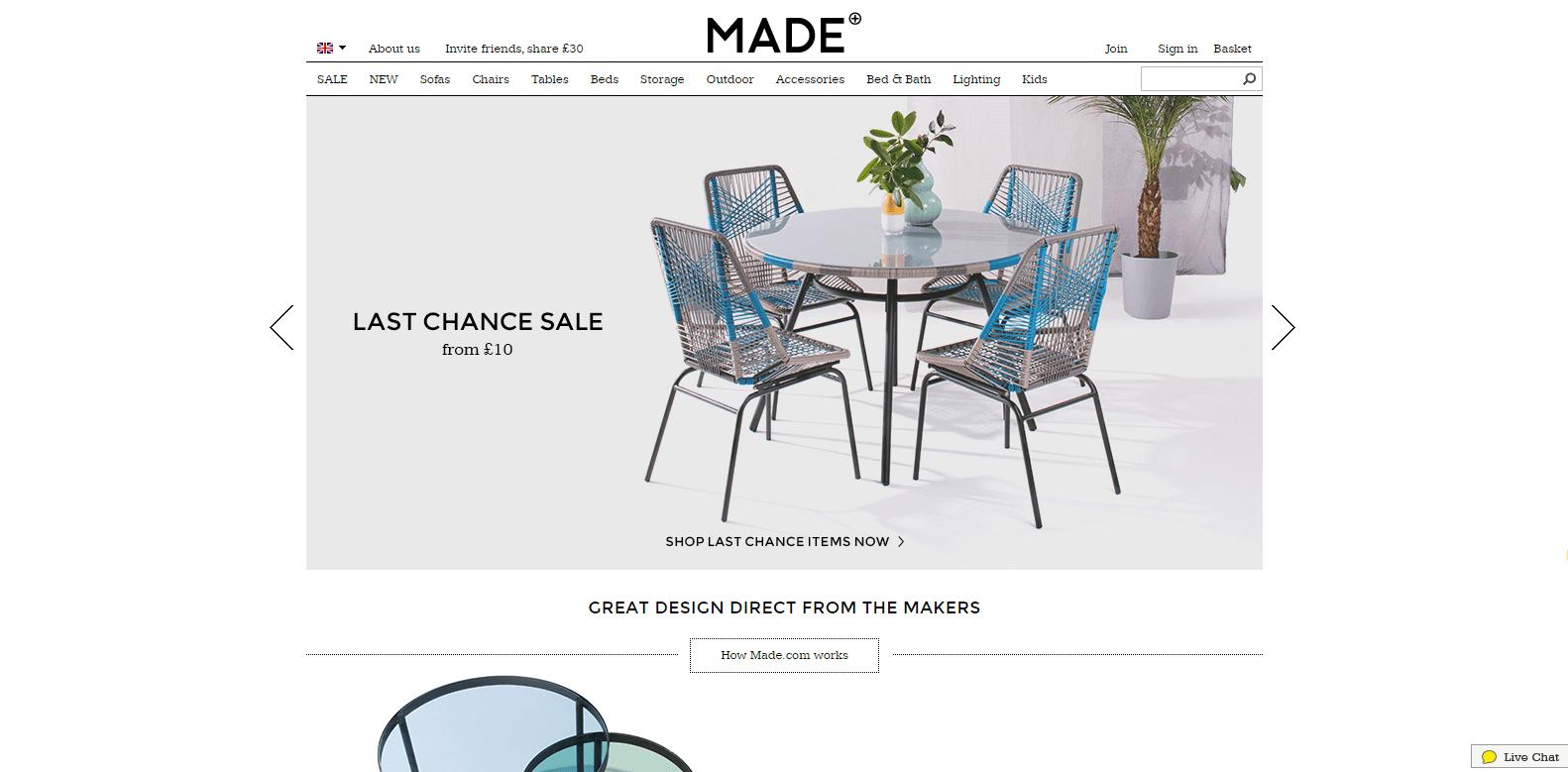 Magento Ecommerce Design - Made