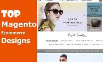 Magento Ecommerce website Designs