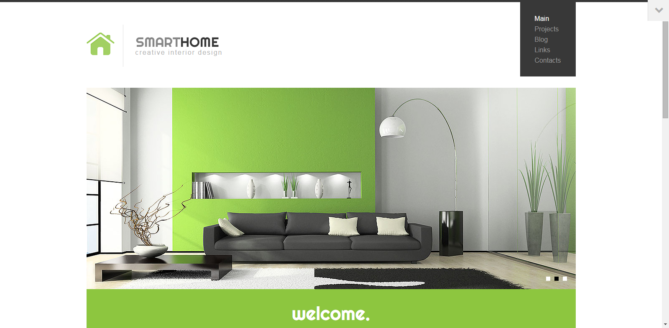 Smart Home - Modern Interior Design WordPress Theme