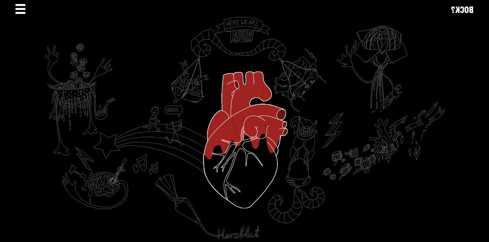 Herzblut und Block