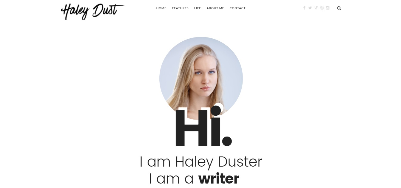 A WordPress Blog Theme For Bloggers